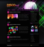 Night Club PSD  Template 49862