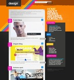 Web design PSD  Template 49863