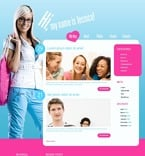 Personal Page PSD  Template 49864