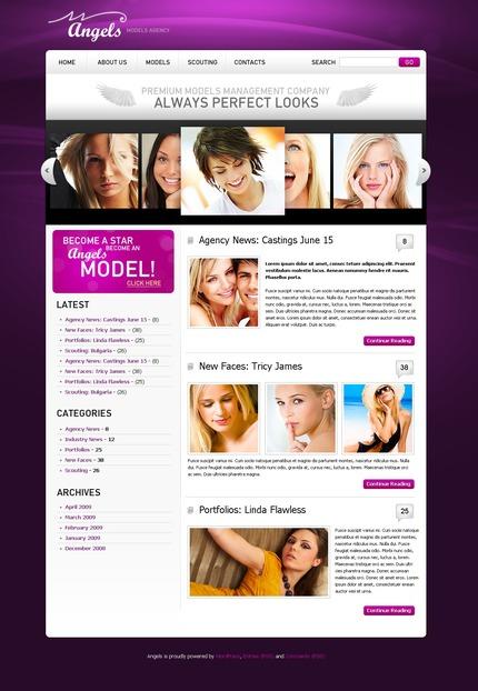 PSD макет сайта №49867