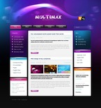 Web design PSD  Template 49869