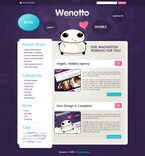 Web design PSD  Template 49870