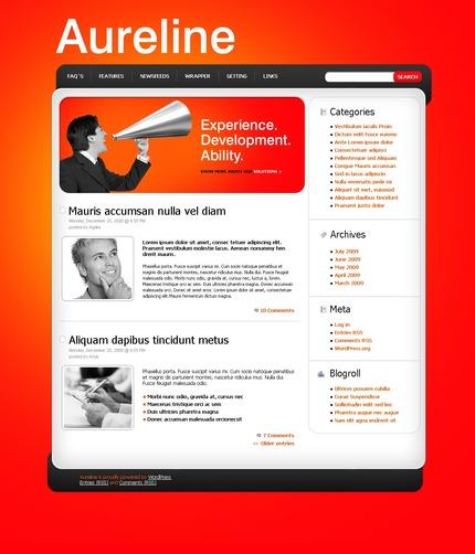 ADOBE Photoshop Template 49873 Home Page Screenshot