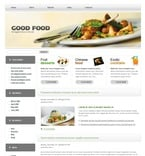Food & Drink PSD  Template 49875