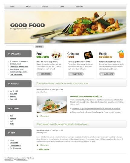 ADOBE Photoshop Template 49875 Home Page Screenshot