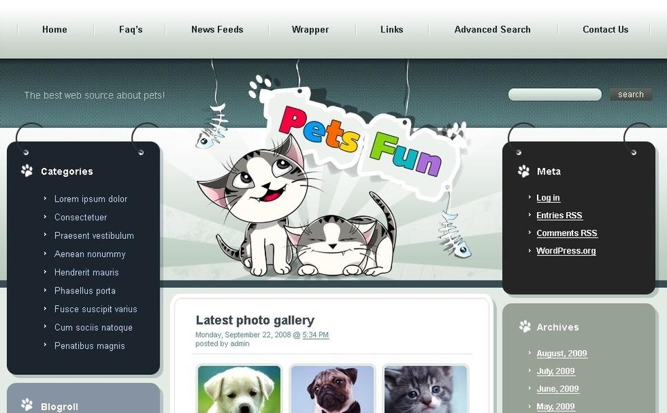 PSD Vorlage für Tiere und Haustiere New Screenshots BIG
