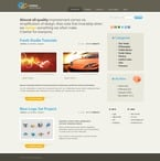 Web design PSD  Template 49893