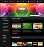 Web design PSD  Template 49896