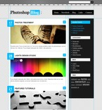 Personal Page PSD  Template 49897