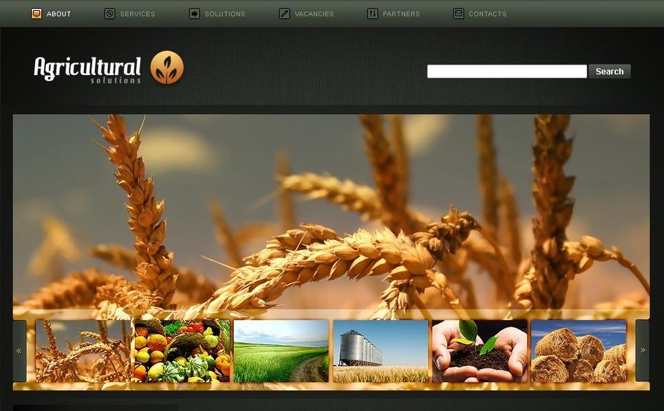 PSD шаблон Шаблоны сельскохозяйственной тематики №49902 New Screenshots BIG