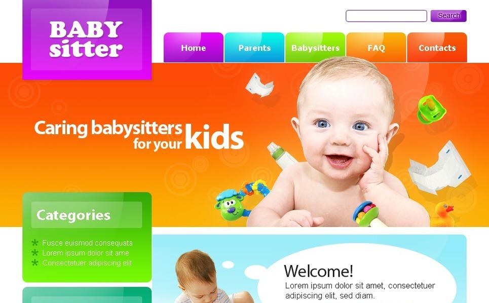 PSD Template over Kinderoppas  New Screenshots BIG