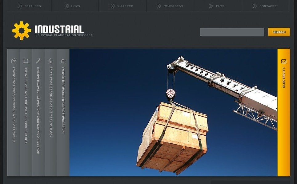 Modèle PSD  pour site industriel  New Screenshots BIG
