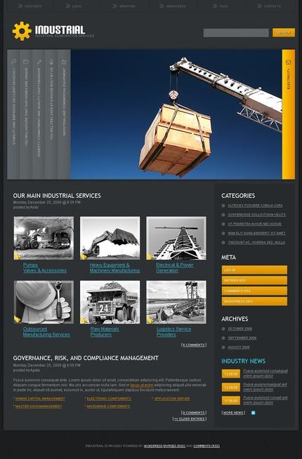 PSD макет сайта №49907