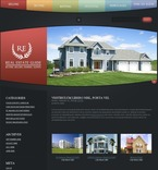 Real Estate PSD  Template 49911