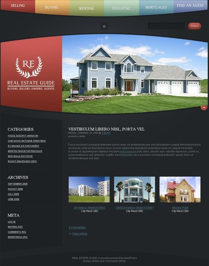 PSD макет сайта №49911