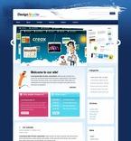 Web design PSD  Template 49913