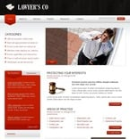 Law PSD  Template 49915