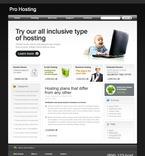 Web Hosting PSD  Template 49918