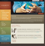 Charity PSD  Template 49926