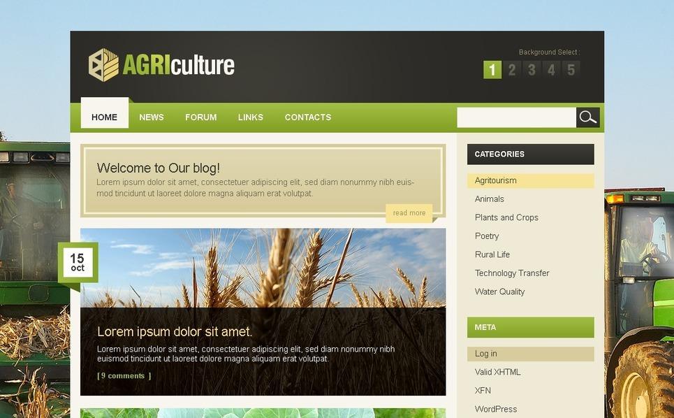 PSD Vorlage für Landwirtschaft  New Screenshots BIG
