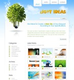 Web design PSD  Template 49934
