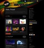Web design PSD  Template 49940