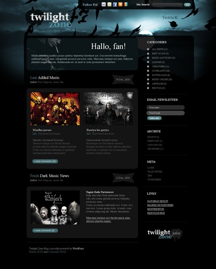ADOBE Photoshop Template 49947 Home Page Screenshot