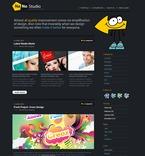 Web design PSD  Template 49951
