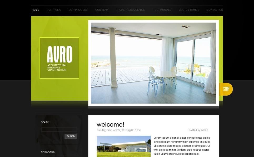 Plantilla PSD #49958 para Sitio de Diseño interior New Screenshots BIG