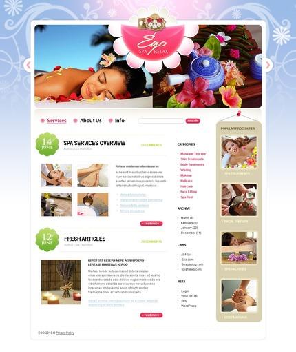 PSD макет сайта №49963
