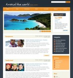 Travel PSD  Template 49970