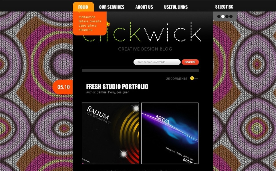 Template Photoshop  para Sites de Estúdio de Design №49974 New Screenshots BIG