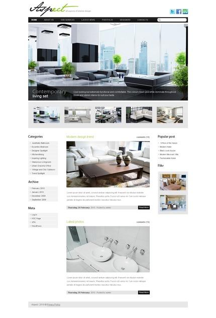 ADOBE Photoshop Template 49979 Home Page Screenshot