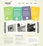 Web design PSD  Template 49996