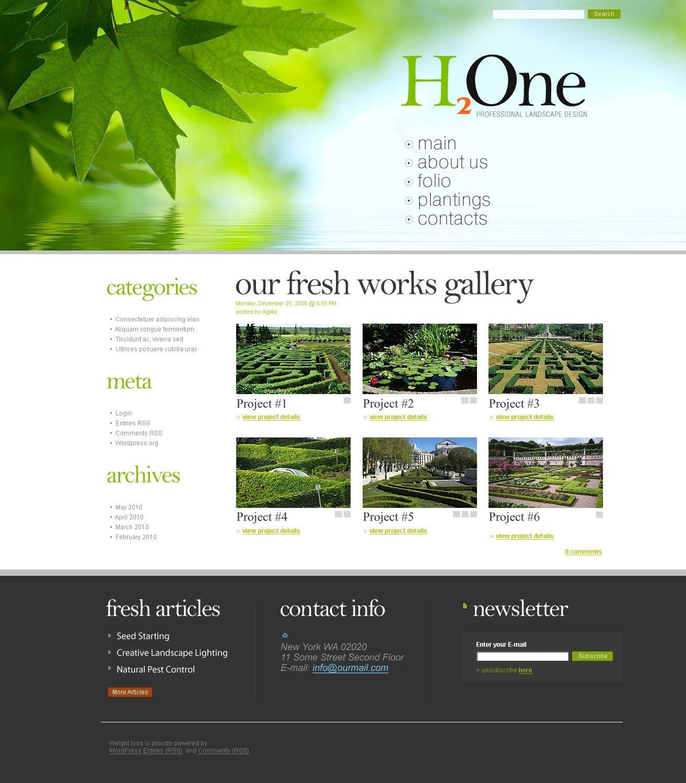 landscape design psd template 49992. Black Bedroom Furniture Sets. Home Design Ideas