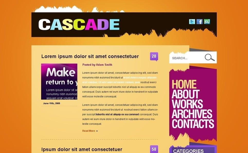 PSD Template over Ontwerpstudio  New Screenshots BIG