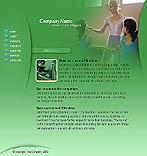 denver style site graphic designs green ballet school classic dance dancing ballet dancer ballerina art