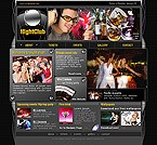 Kit graphique introduction flash (header) 5053 nuit club musique