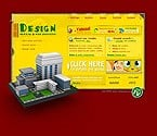 Flash: Web Design Web Design ArtWorks 3D Style Flash Site