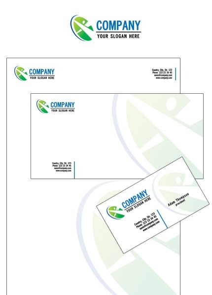 Neutral Corporate Identity Template Vector Corporate Identity preview