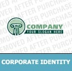 Law Corporate Identity Template 5098