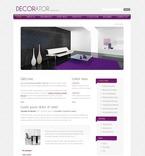 Furniture PSD  Template 50000