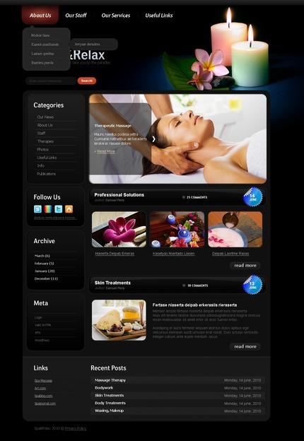 PSD макет сайта №50013
