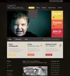 Charity PSD  Template 50016