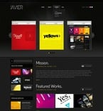 Web design PSD  Template 50017
