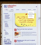 Education PSD  Template 50020