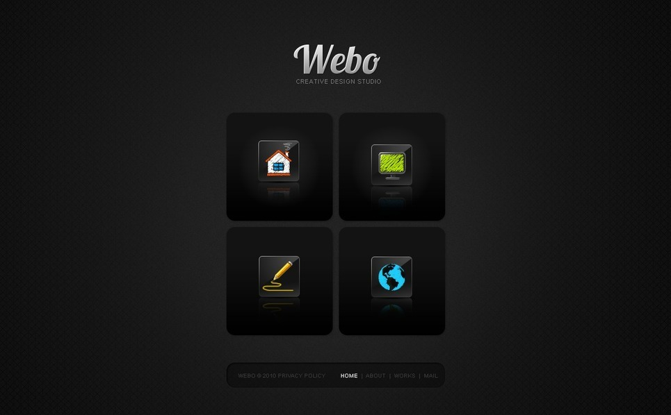 Szablon PSD #50026 na temat: web design New Screenshots BIG
