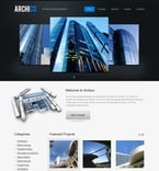 Architecture PSD  Template 50032