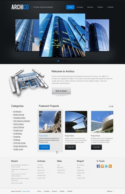 PSD макет сайта №50032