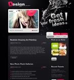 Web design PSD  Template 50036
